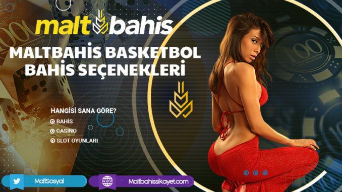 Maltbahis Basketbol Bahis Seçenekleri