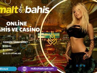 Online bahis ve casino